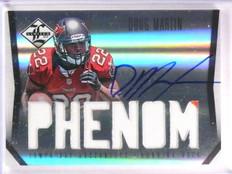 2012 Limited Doug Martin Autograph auto Patch rc rookie #D189/299 #211 *55384