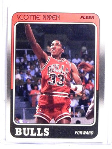 1988-89 Fleer Scottie Pippen Rookie rc #20 *60337