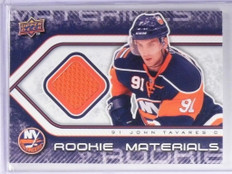 09-10 Upper Deck Rookie Materials John Tavares jersey rc #RM-JT *49481