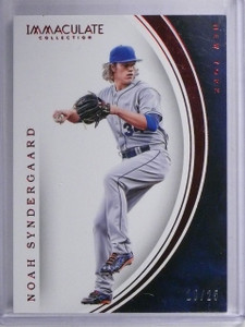 2016 Panini Immaculate Red Noah Syndergaard #D10/25 #50 *64834
