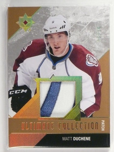 14-15 Ultimate Collection Gold Matt Duchene 2clr patch #D27/35 #60 *49394