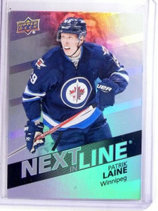 2016-17 Upper Deck Overtime Next in Line Patrik Laine Rookie RC #NL30 *66671