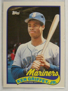 1989 Topps Traded Ken Griffey Jr. rc rookie #41T *23480