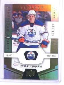 2016-17 Upper Deck Trilogy Jesse Puljujarvi Rookie RC #D914/999 #54 *66669