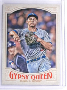 2016 Topps Gypsy Queen Fielding Photo Variation Corey Seager rc rookie #7 *55925