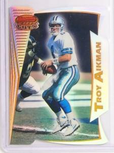 1996 Bowman's Best Cuts Refractor Troy Aikman #BC14 *67090