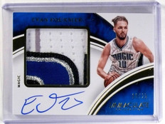 2015-16 Immaculate Patches Evan Fournier autograph auto patch #D06/25 *57395