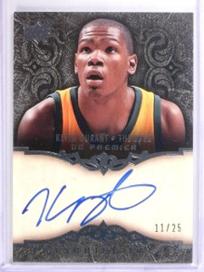 2008-09 Upper Deck UD Premier Franchise Faces Kevin Durant autograph #/25 *56330