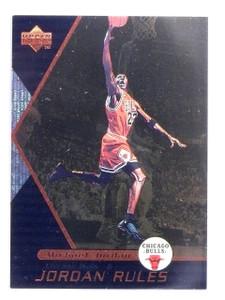 1998-99 Upper Deck Ovation Jordan Rules Michael Jordan #J1 *59919