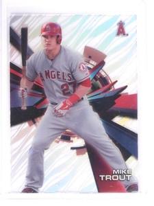 2015 Topps High Tek Mike Trout #HT-MTT *53058