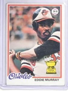 1978 Topps Eddie Murray Rookie RC #36 VG-EX *60637