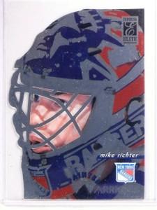 1996-97 Donruss Elite Painted Warriors Promo sample Mike Richter #2 *66686