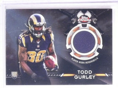 2015 Topps Chrome Retail Relics Todd Gurley Rookie Jersey #TCRRTG *67133