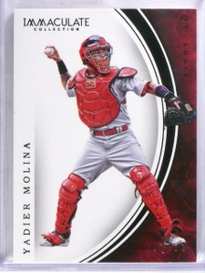 2016 Panini Immaculate Collection Black parallel Yadier Molina #D 1/1 *57373