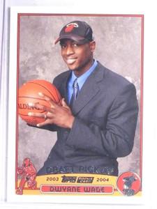 2003-04 Topps Dwyane Wade Rookie RC #225 *65996