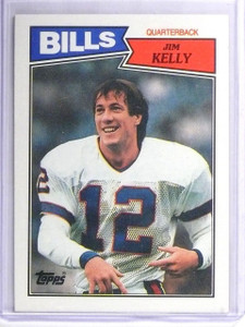 1987 Topps Jim Kelly Rookie RC #362 *62614