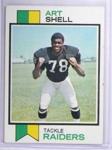 1973 Topps Art Shell Rookie RC #77 EX *63097