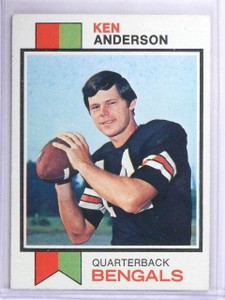 1973 Topps Ken Anderson Rookie RC #34 EX *63096