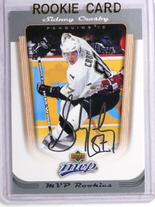 2005-06 Upper Deck MVP Sidney Crosby rc Rookie #393 *58987