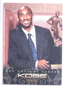 2012-13 Panini Anthology Gold Kobe Bryant #D17/24 #159 *65779