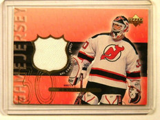99-00 Upper Deck Martin Brodeur game jersey #MB *41450