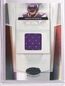 2007 Leaf Certified Materials Adrian Peterson Rookie Jersey #D052/849 #219 *6694