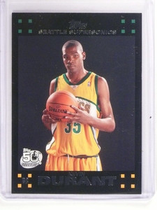 07-08 Topps Kevin Durant rc rookie #112 *52997