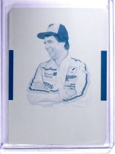 2016 National Treasures Printing Plate Cyran Darrell Waltrip #D1/1 #40 *64319