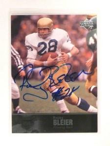2011 UD College Legends Football Autograph Auto Rocky Bleier #33 *44825