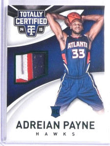 2014-15 Totally Certified Green Adreian Payne Rookie Patch #D5/5 #89 *65776