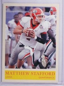 2009 Upper Deck Philadelphia Matthew Stafford Rookie RC #201 *63098