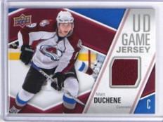 11-12 Upper Deck game Jersey Matt Duchene jersey #gj-MD *33671