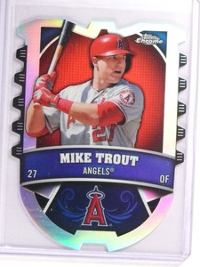 2014 Topps Chrome Mike Trout Connections Die Cuts #CCMT *51449