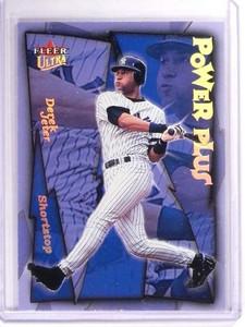 2001 Fleer Ultra Derek Jeter Power Plus #4 Yankees *51436