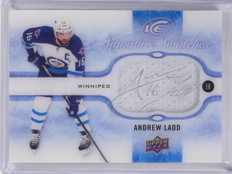 2015-16 Upper deck Ice Signature Swatches Andrew Ladd Jersey Autograph  *58778