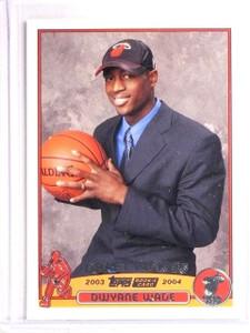 2003-04 Topps Dwyane Wade Rookie RC #225 *67081