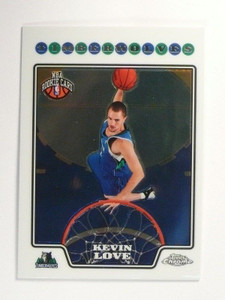 08-09 Topps Chrome Kevin Love rc rookie #185 *46709