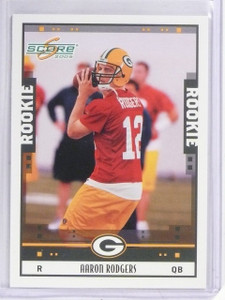 2005 Score Aaron Rodgers Rookie RC #352 *58836