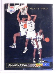1992-93 Upper Deck Shaquille O'Neal Rookie RC #1 *67078
