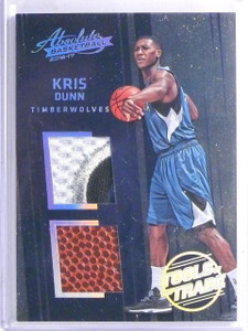 2016-17 Absolute Tools of the Trade Kris Dunn Rookie Ball Patch #D24/25 #12 *657