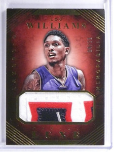 2015-16 Panini Luxe Memorabilia Lou Williams Patch #D04/25 #20 *57006