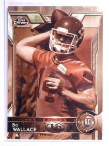 2015 Topps Chrome Sepia Refractor Bo Wallace Rookie RC #D71/99 #188 *62551