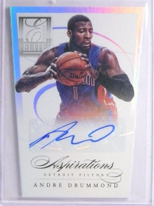 2012-13 Elite Series Aspirations Andre Drummond Rookie Autograph #D49/99 *65724