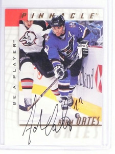 1997-98 Be A Player Adam Oates Autograph Auto #5 Capitals *49066