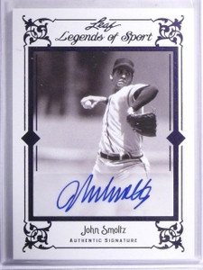 2012 Leaf Legends Of Sport Purple John Smoltz autograph auto #D 1/1 *57796