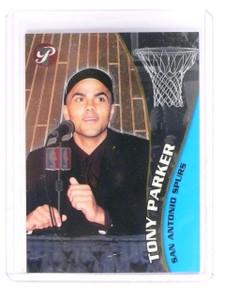 2001-02 Topps Pristine Tony Parker Rookie RC #108 Spurs *45289