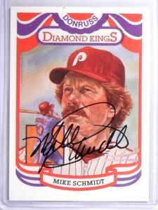 2001 Donruss Diamond Kings Reprints Mike Schmidt autograph auto #D76/84  *57781