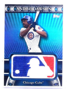 2010 Topps Manufactured MLB Logoman Patch Andre Dawson #D34/50 #LM56 *60283