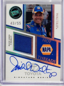 2009 Press Pass Premium Hot Threads Michael Waltrip auto  Firesuit #D43/55 *3536