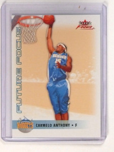 2003-04 Fleer Focus Future Carmelo Anthony Rookie RC #d002/499 *45249